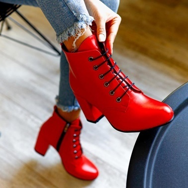 Limoya Bot Kırmızı